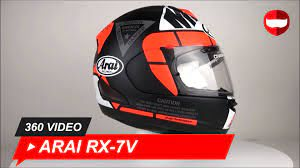 Arai RX-7V Vinales 25 Helm 360 Video - Champion Helmets ...