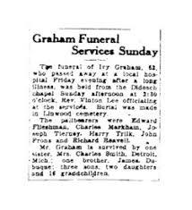 Ivy Graham (1865-1927) - Find A Grave Memorial