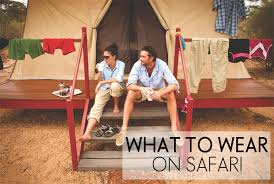 what to wear on safari oh