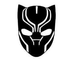 Black Panther Decal Etsy