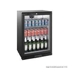 lg 138hc under bench single door bar cooler
