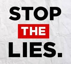 Stop the Lies - Stop the Lies updated their profile picture.   Facebook