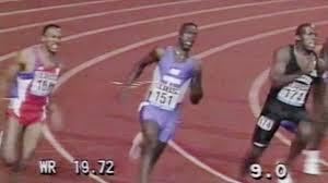 Michael Johnson - 200m 1991 - Weltklasse Zürich Magic Moments 08 ...