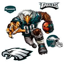 Fathead Philadelphia Eagles Extreme Eagle 5 Pack Removable Wall Decal