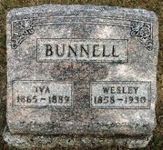 Iva Patterson Bunnell (1865-1889) - Find A Grave Memorial