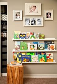 How To Create A Library Wall Project Nursery Wall Bookshelves Baby Boy Nurseries Nursery Room