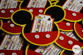 Mickey Mouse Clubhouse Party Invitation Fiesta De Mickey
