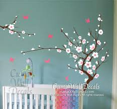 White Cherry Blossom Wall Decals Flower By Cuma Wall Decals On Zibbet