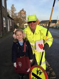 Ava makes Valentine's Day card for favourite Darlington lollipop man | The  Northern Echo