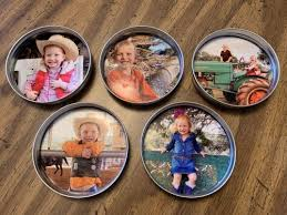 homemade gift idea magnets or