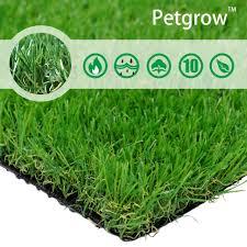 artificial grass pet zen garden rug w