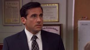 michael scott freaks out at toby s