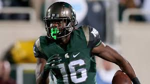 Michigan State WR Aaron Burbridge makes incredible spin moves on ...