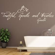 Be Truthful Inspirational Gandhi Quote Wall Decal Sticker Ws 44114 Ebay