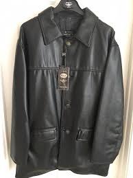 reportage rga italy faux black leather