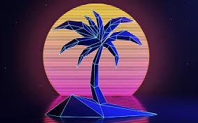 100 unique retro neon background this