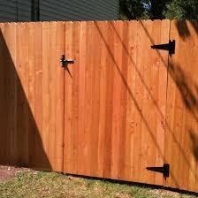 Fence City 72 Dog Eared Solid Board Red Cedar