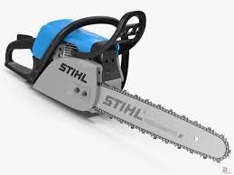 chainsaw stihl 3d model cgstudio