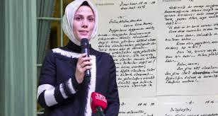 Esra Albayrak, Erdoğan'ın Cezaevinden Kendisine Yazdığı Mektubu ...