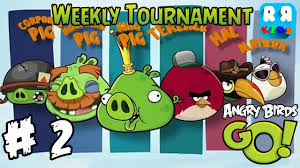 Angry Birds GO! - Weekly Tournament Part 2 - Walktrough Gameplay ...