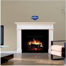 Amazon Com Fathead Wall Decal Fireplace Home Kitchen