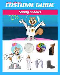 sandy cheeks costume diy guide for