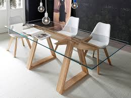 tempered glass dining table tokyo