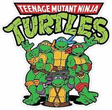 Teenage Mutant Ninja Turtles Cartoon Vinyl Sticker Decal Wall Sizes Ebay