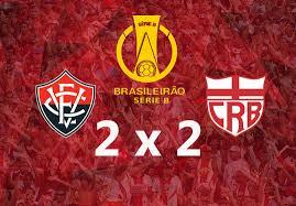 Vitória empata com CRB, no Barradão   Futebol na Veia
