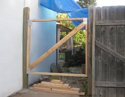 Easy Illustrated Instructions On How To Fix A Gate