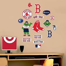Decorative Wall Art Set Fathead 40 X 3 X 3 Boston Red Sox Target