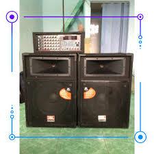 HÀNG CHẤT LƯỢNG] Dàn âm thanh, hát karaoke loa sân khấu JBL và amply 16 sò  bọc NỈ công suất lớn chơi ngoài trời - GIÁ