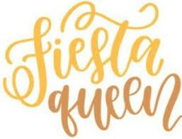 Fiesta Queen Vinyl Decal Sticker Yeti Tumblers Walls Windows Cars Glass Ebay