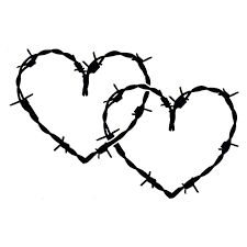 20 3cm 13 5 Barb Barbed Wire Hearts Vinyl Car Styling Stickers Decals Black Silver S3 4963 Vinyl Decal Decal Stickersilver Vinyl Aliexpress
