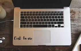 C Estla Vie Macbook Decal French Quote Decal Laptop Best Quotes Love Bestquotes