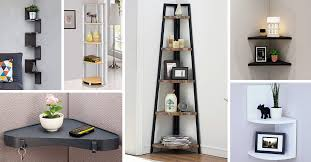 26 best corner shelf ideas and designs