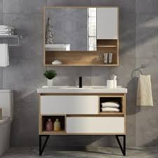 bathroom vanity oval square