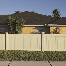 Freedom Actual 3 83 Ft X 7 56 Ft Ready To Assemble Bolton Sand Vinyl Flat Top Vinyl Fence Panel 73014724 In 2020 Vinyl Fence Panels Vinyl Fence Fence Panels