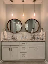 laurel hutton 30 inch round wall mirror