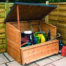 68 best garden storage boxes images