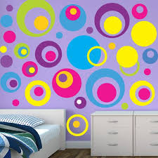 Circle Wall Stickers Circle Decals Kids Room Wall Stickers Kids Room Wall Stickers Wall Decor Stickers Wall Stickers Circles