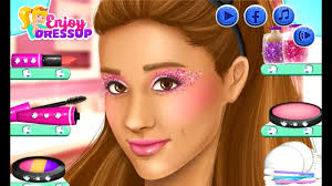 ariana grande real makeup games