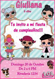 Tarjeta Invitacion Lol Personalizada Digital Cumpleanos 150 00