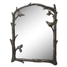 bird pair and branch wall mirror by spi