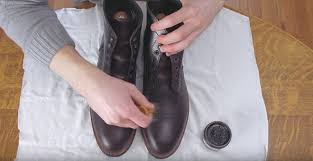 how to clean condition leather boots