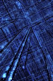 3d cybere grid iphone wallpaper