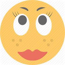 emoji emoticon in love makeup