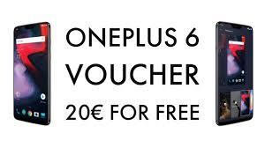 20 promo code voucher oneplus 6