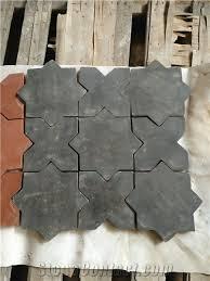 black clay flooring tiles antique