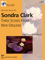 Three Scenes From New Orleans By Sondra Clark - Collection Sheet ...